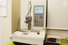 Automatic load test and resistance test machine